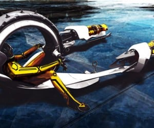 Michael Jelinek's Vehicle Concepts: Are Pod Racers the Future of Transportation?