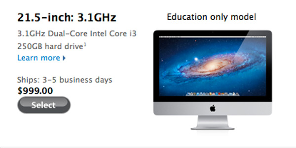 apple imac mac discount education store