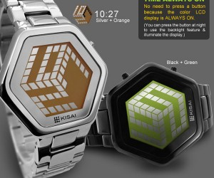 Tokyoflash Kisai 3D Unlimited Watch: A Unique Perspective on Time