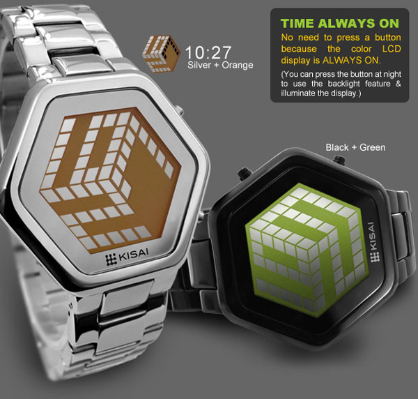 tokyoflash kisai 3d unlimited watch japan lcd