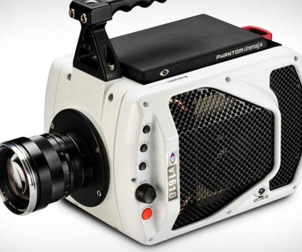 Phantom V1610: Shoots Video at up to 1 Million Frames per Second!
