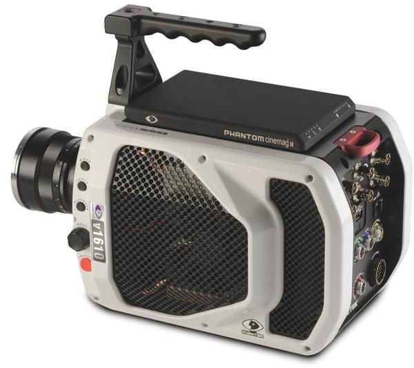 phantom v1610 high speed camera digital one million frames per second