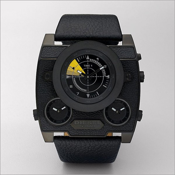 diesl watch black out sba dz1404