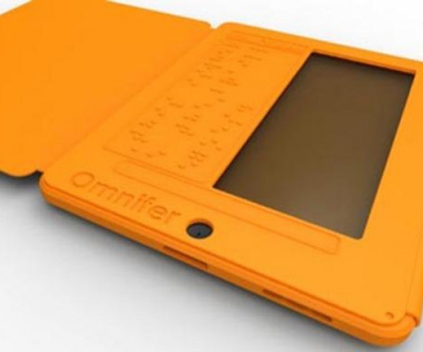 Omnifer Braille iPad Case: Bringing Touchscreens to the Blind