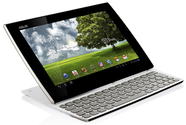 asus eee pad slider tablet android computer