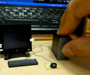 Tiny Desktop Computer: If You Thought it Was Hard to Upgrade Your PC…