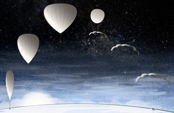 bloon balloon space travel orbit barcelona spain zero2infinity