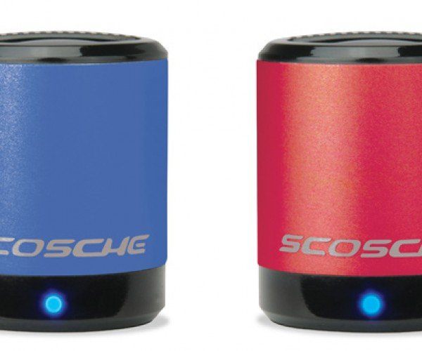 Scosche boomCAN Speakers: Campbell's Soup Sold Seperately