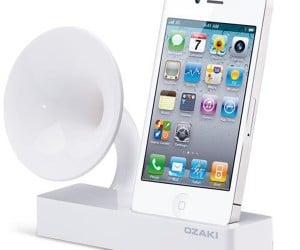 Ozaki iSuppli Gramo iPhone Speaker Still Needs to be Plugged in