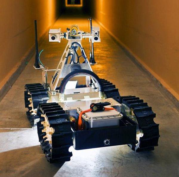 gemini scout robot sandia mining remote control rescue