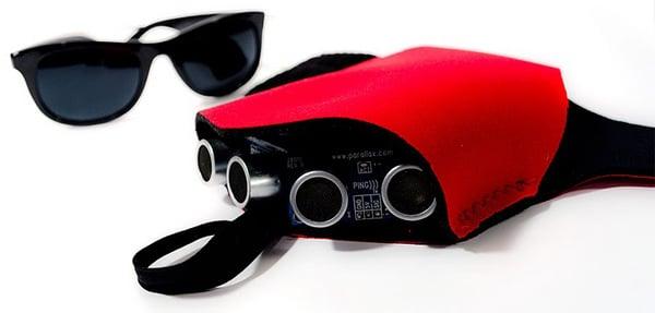 tacit haptic glove steve hoefer blind sensor sonar