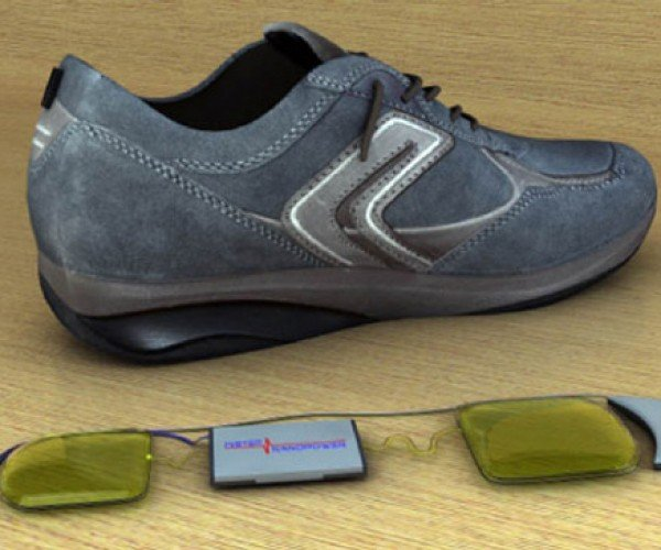 InStep Nanopower Shoes Create Electricty While You Walk (and Hopefully Won't Electrocute You)