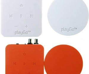 playGo Wireless Audio Streamer: Minimal, But Expensive