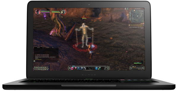 razer blade gaming laptop sleek