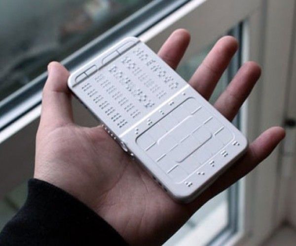 DrawBraille Phone Concept: Texting for the Blind?