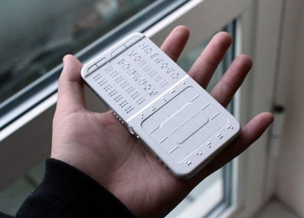 Drawbraille Phone Concept Texting For The Blind