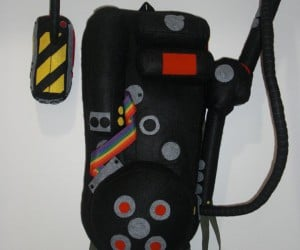 Ghostbusters Proton Pack Plushies: They Ain't Afraid of No Ghosts!