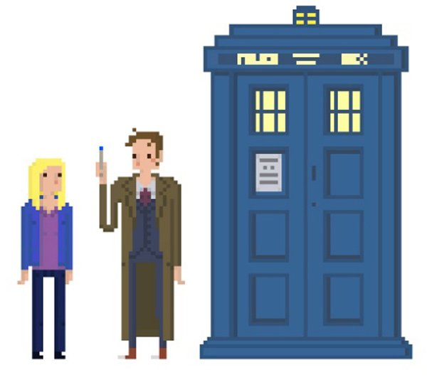 lucie patron doctor who animation pixel