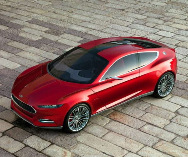 Ford EVOS Concept Car: Great Looks and a Big Brain