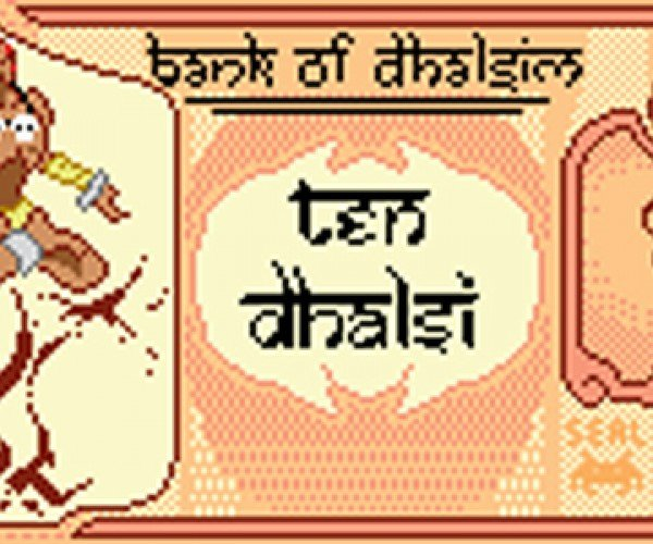 Banknotes Pixel Art: Pictures Worth a Thousand Bits
