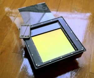 Massive Digital Sensor Snaps 8×10 Photos and Cost More than a House