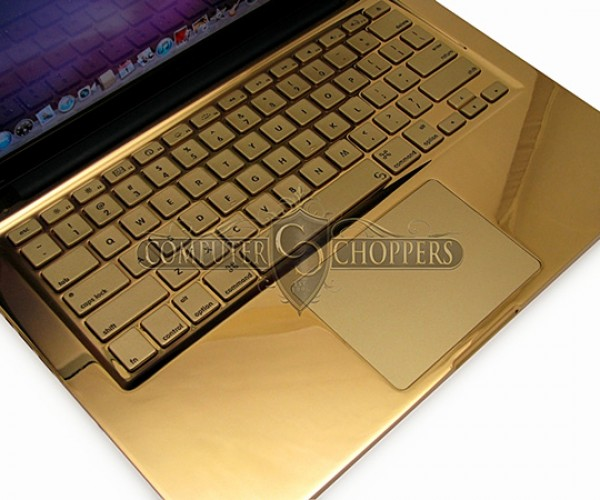 24 karat gold macbook pro by computer choppers 2