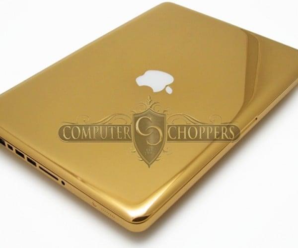 24 karat gold macbook pro by computer choppers 4