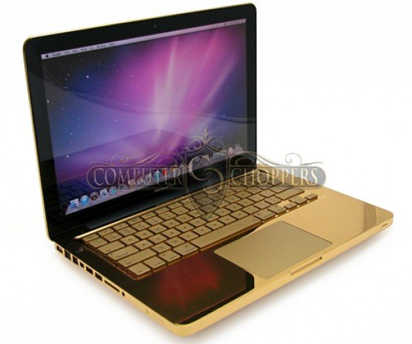 Gold 2011 MacBook Pro: Because Aluminum is for the Poor