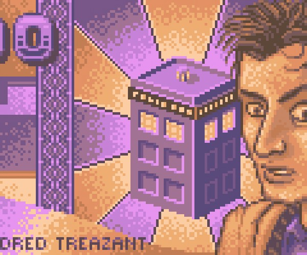 dr who pixel banknote by arkan85