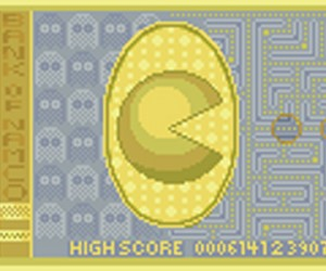 pacman pixel banknote by cels