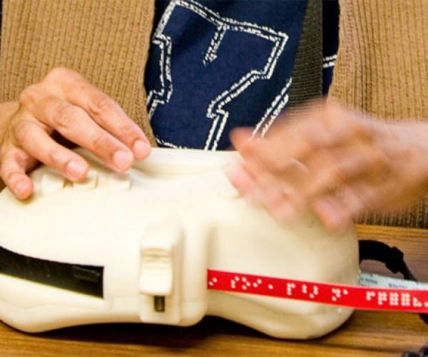 6dot Braille Labeler: Dymo for the Blind