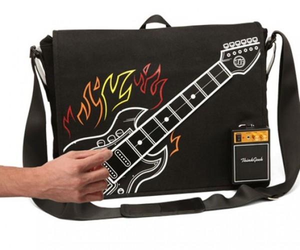 Electronic Guitar Bag Lets You Strum Your Pain Wherever You Go