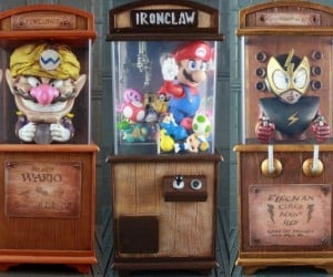 Nintendo Themed Boardwalk Cabinets: Let Wario Tell Your Fortune