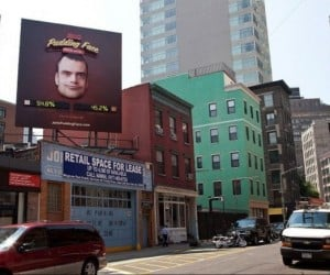 Get Free Pudding When Jell-O's (Creepy) Pudding Face Billboard Is Frowning