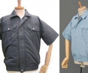 Kuchofuku Air-Conditioned Shirt Keeps You Cool While You're at Work