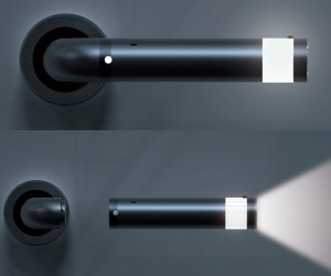 The LEDoor Helps You Find Your Way in the Dark, But Leaves You Without A Door Knob