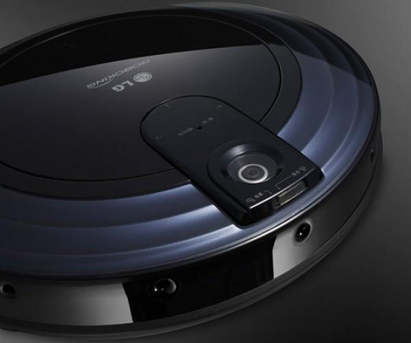 LG Roboking Triple Eye VR6180VMNC vacuum cleaner remote camera 2