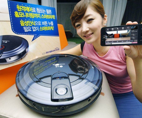 LG Roboking Triple Eye VR6180VMNC vacuum cleaner remote camera