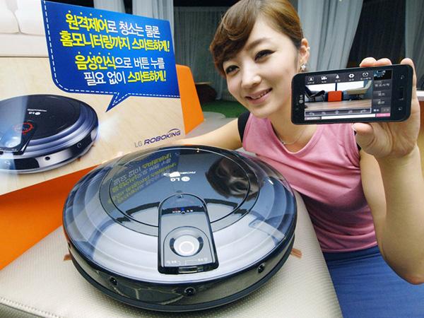 LG Roboking Triple Eye VR6180VMNC vacuum cleaner remote camera