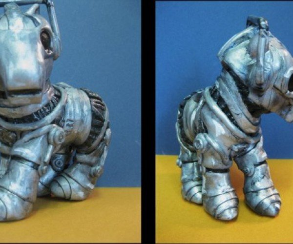 My Little Cyberman-Pony Could Be Doctor Who's Cutest Enemy