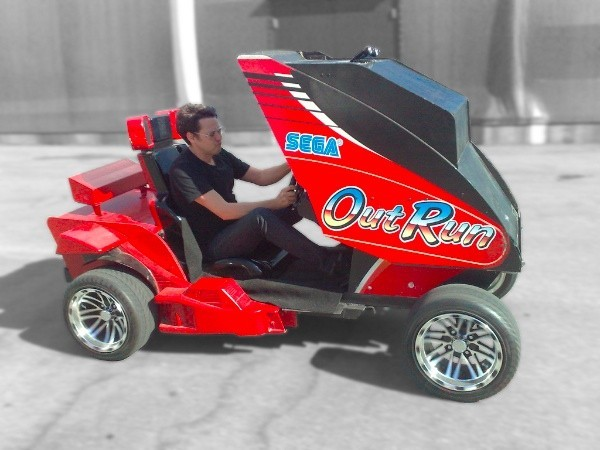 OutRun AR Video Game