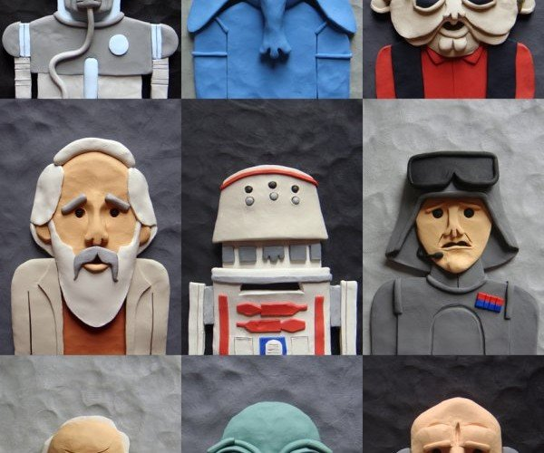 Plasticine Tatooine Honors the Lesser Known Star Wars Characters