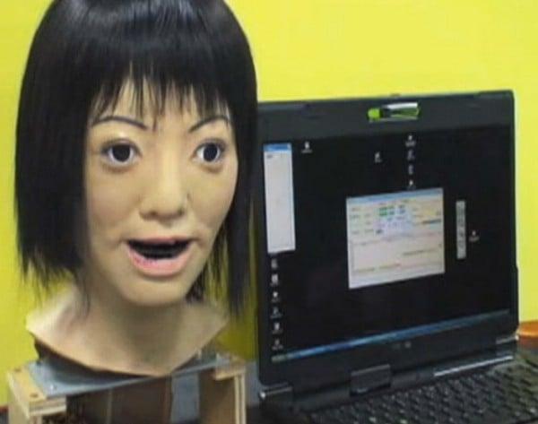 Robot Head Can Sing Lullabies