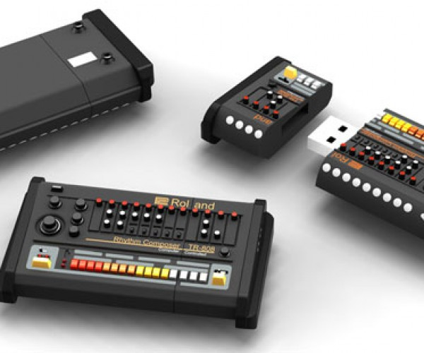 Honey, I Shrunk The Roland TR-808! Just Kidding, It's a Flash Drive
