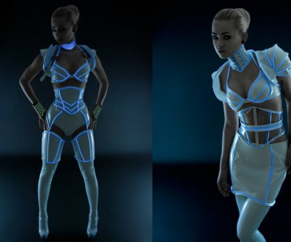 Sexiest TRON Costume Ever