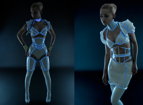 Sexy Tron Costume