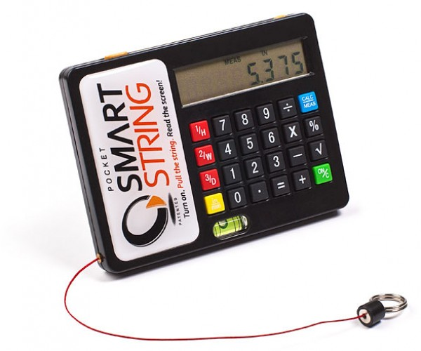 Smart String Upstages Your Ordinary Measuring Tape