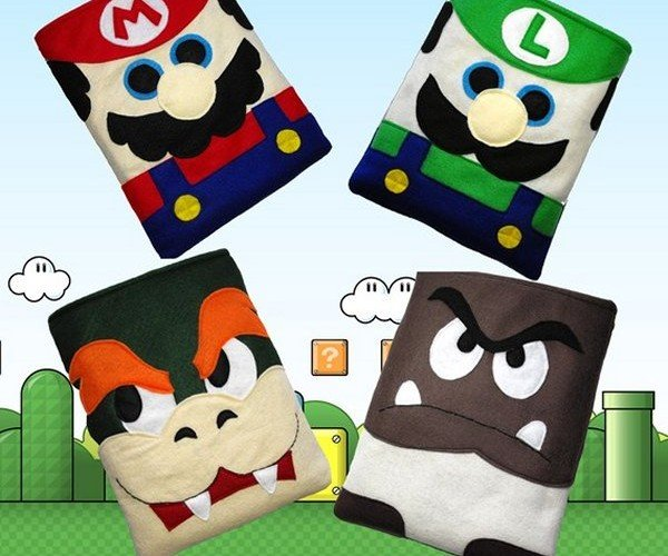 Super Mario iPad Cases Are the Bob-omb