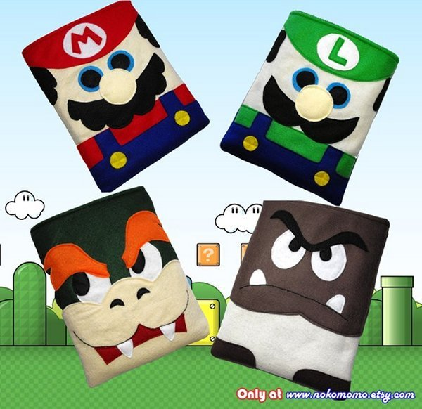 Super Mario iPad Covers