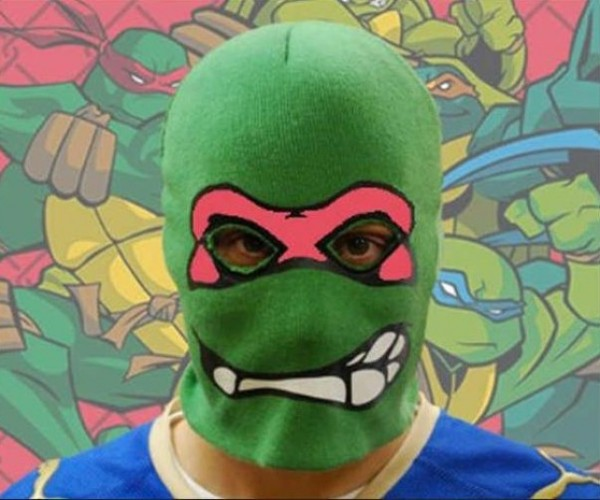 Teenage Mutant Ninja Turtle on the Run After Robbing Wendy's
